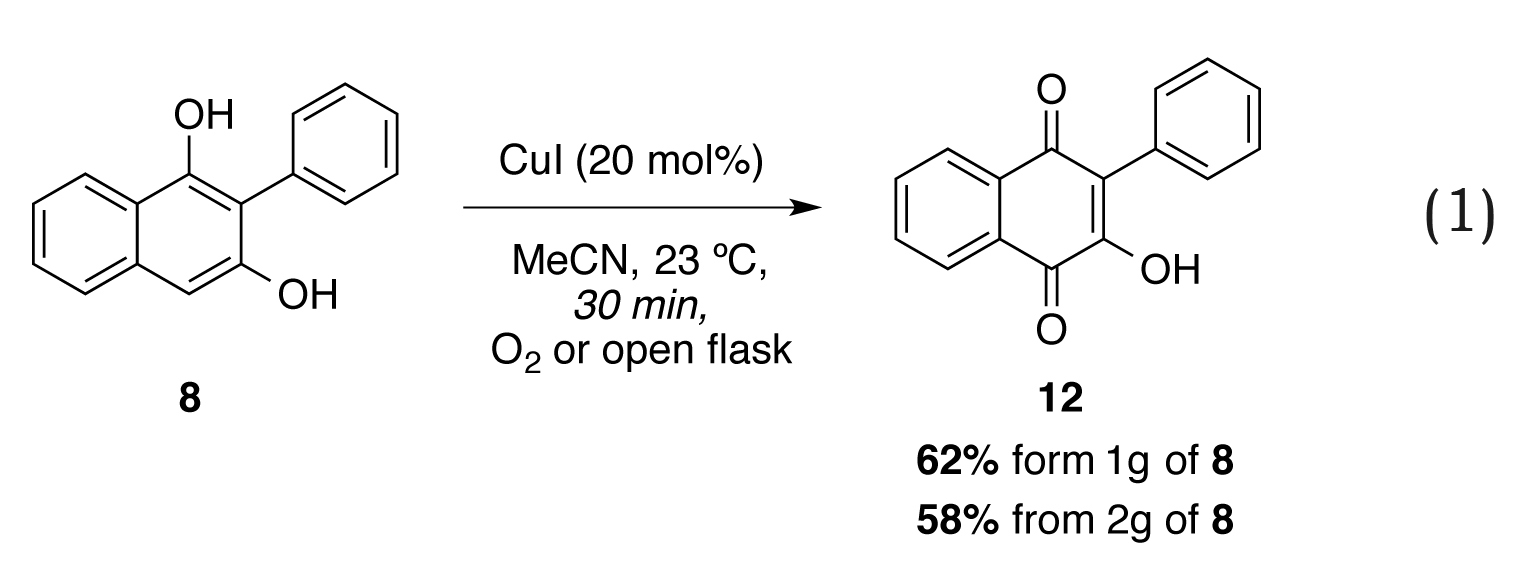 View of Unprecedented and Scalable Copper (I)-Catalyzed